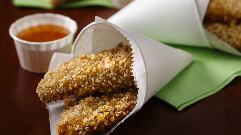 Lomitos de Pollo con Miel y Azúcar Morena