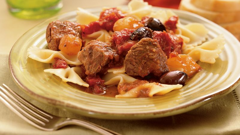 Slow-Cooker Zesty Italian Beef Tips