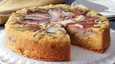 Rosemary Anjou Pear Cake