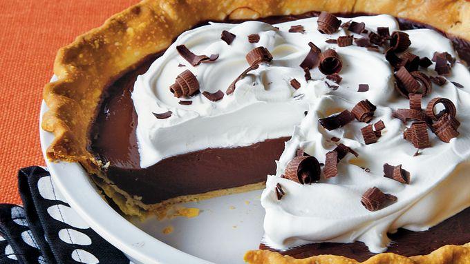 Black Russian Chocolate Pie