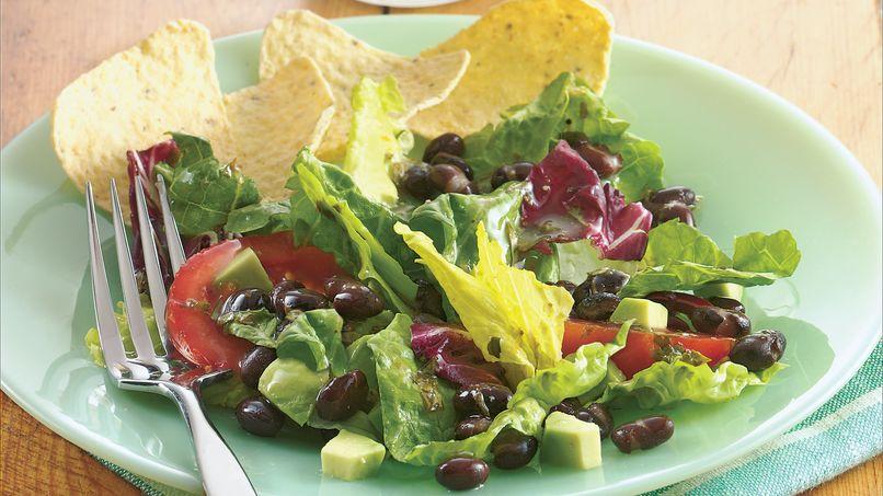 Ensalada de Frijoles Negros y Verduras