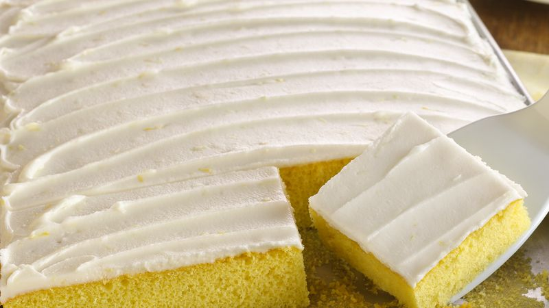 Lemon Vegetable Oil Cake