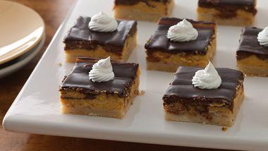 Pumpkin Tiramisu Cheesecake Bars