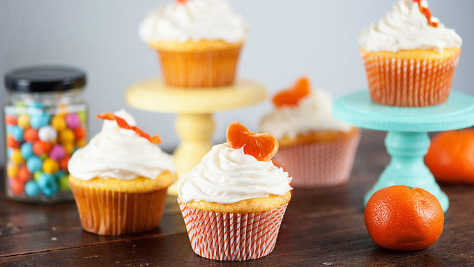 Orange and Lemon Cupcakes
