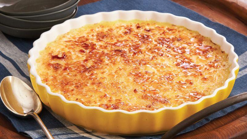 Sweet Potato Crème Brûlée