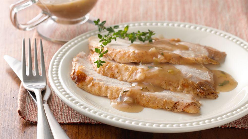 Gluten-Free Leek and Herbed Gravy