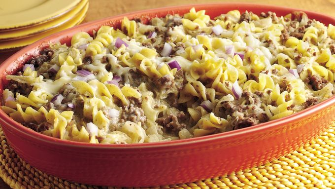 Swiss Sauerkraut Casserole