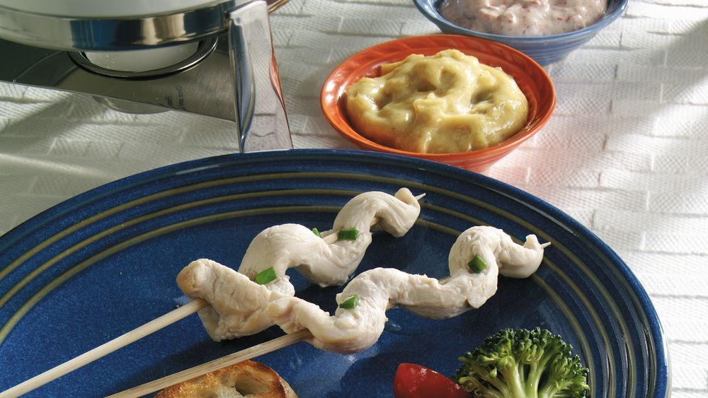 Chicken Fondue