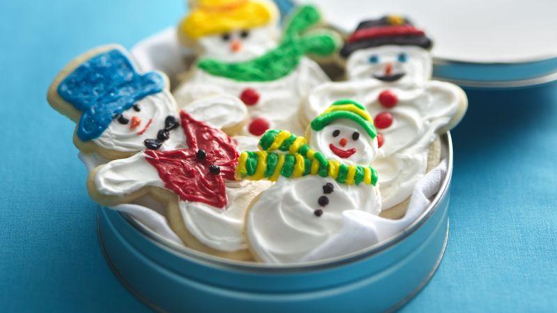 Snowman Cookie Friends