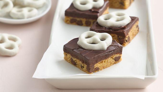 Chocolate Chip Truffle Bars