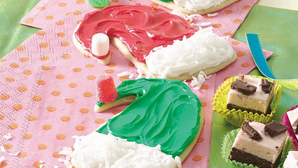 Elf Hat Cookies