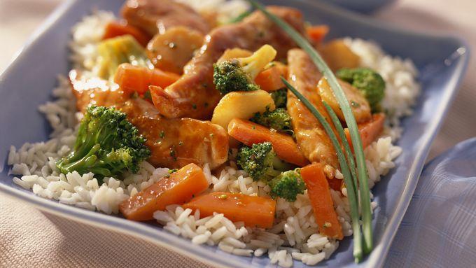 Orange Chicken Stir-Fry