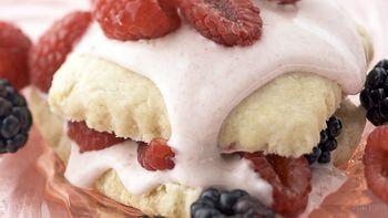 Skinny Berry Shortcake