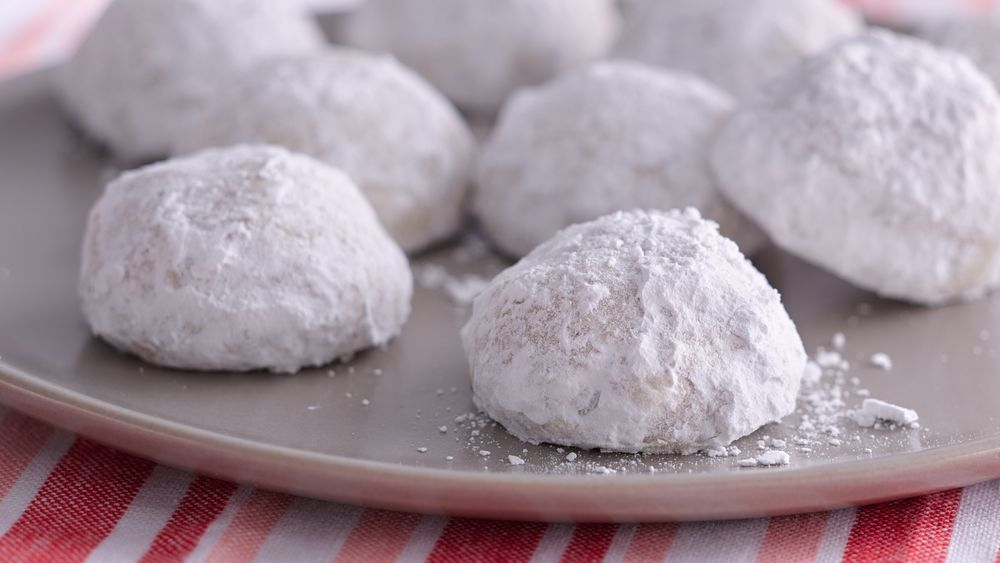 Russian Tea Cake Christmas Cookies