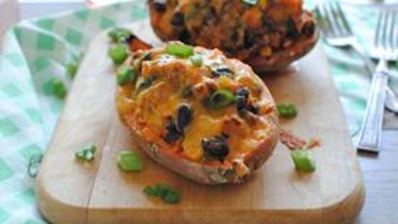 Tex-Mex Stuffed Sweet Potatoes