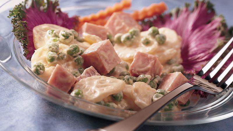 Creamy Ham and Potato Salad