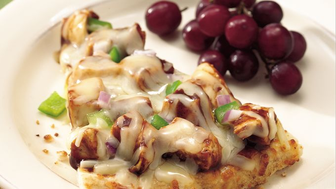 Grilled Barbecue Chicken Pizza