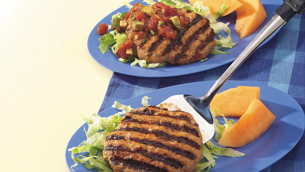El Paso Grilled Turkey Patties