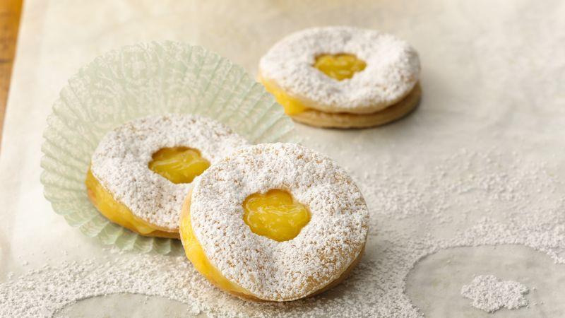 Ginger-Lemon Curd Petite Pies