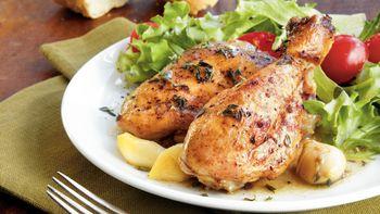 Slow-Cooker Fourty-Garlic Chicken