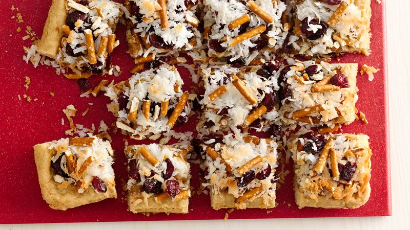 Holiday Caramel Layer Bars