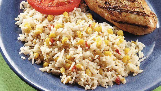 Corn Pilaf