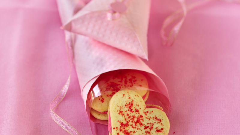 Heart Sandwich Cookies