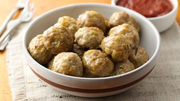 Freezer-Friendly Turkey Meatballs