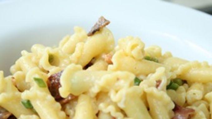 Garlic Scape Carbonara