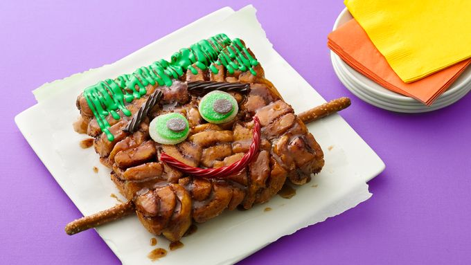 Frankenstein Monkey Bread