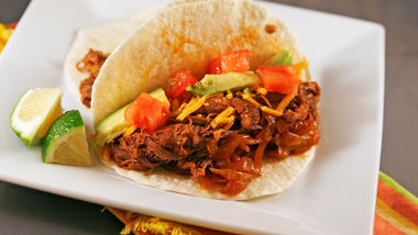 Slow-Cooker Beef Brisket Tacos
