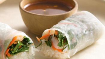 Vegetarian Salad Rolls