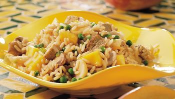 Mango Pork Fried Rice
