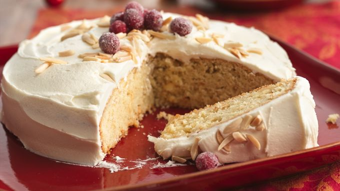 White Chocolate-Almond Torte