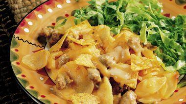 Potato Taco Casserole