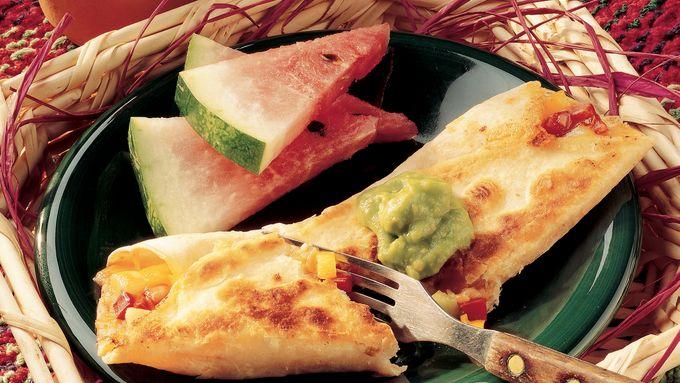 Easy Vegetable Tortillas