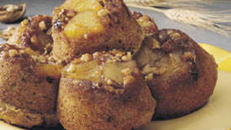Pineapple Upside-Down Carrot Muffins
