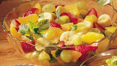 Gluten-Free Minted Fruit Salad
