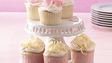 Simple Wedding Cupcakes