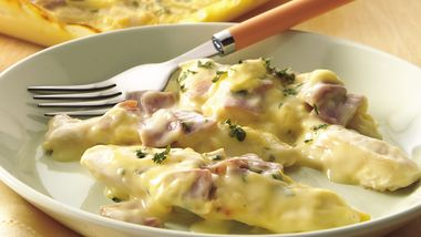 Creamy Chicken and Ham Bake