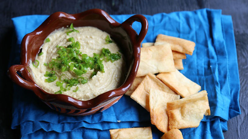 Lemon Yogurt Hummus