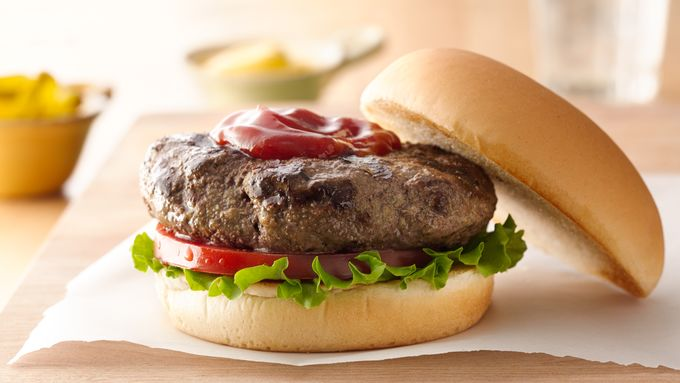 Meat and Veggie Burgers