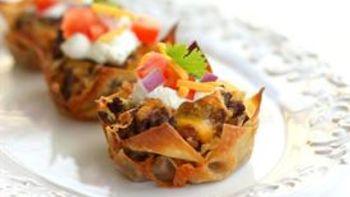 Taco Cupcakes