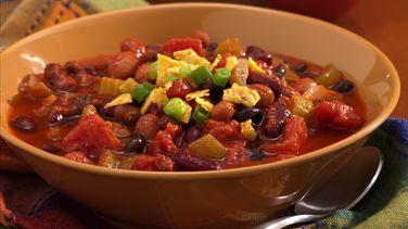 Smoky Three-Bean Chili