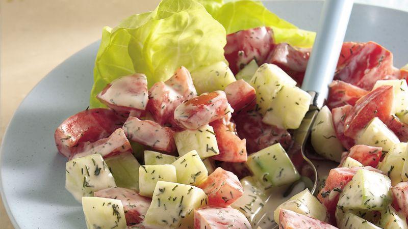 Dilled Cucumber-Tomato Salad