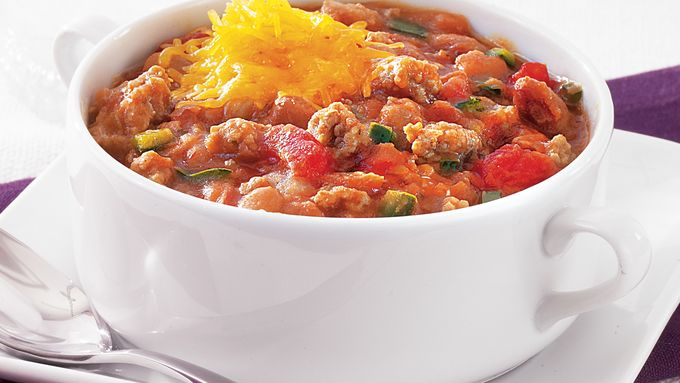 Spicy Chipotle Turkey Chili