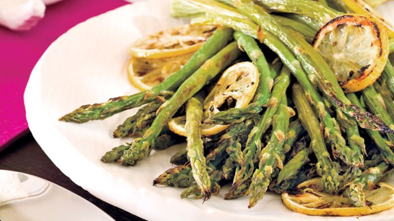 Roasted Lemony Asparagus