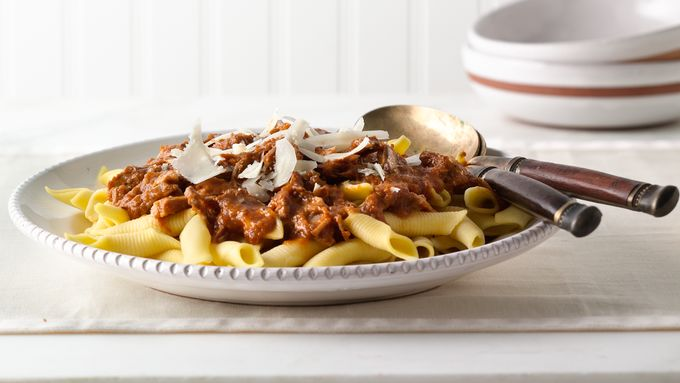 Slow-Cooker Pork Shoulder Sugo