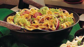 Garden Veggies and Beef Salad