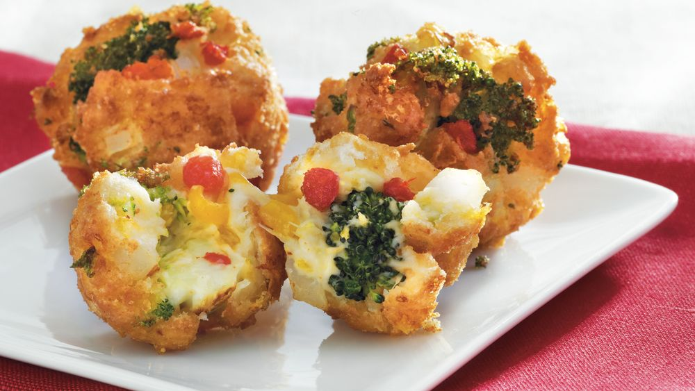 Broccoli-Cheese Bites
